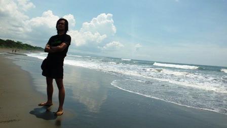 view pantai di Resort Grajagan Blok Bedul