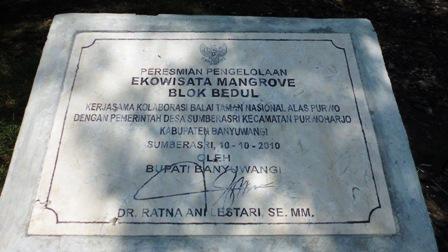 Ekowisata Mangrove Blok Bedul
