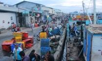 Suasana Pelabuhan Muara Angke