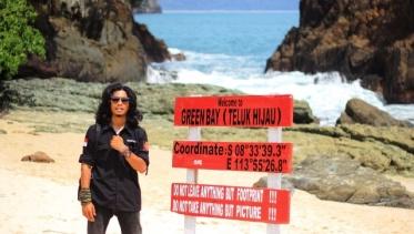 Nih, bukti udah sampai Green Bay atau Teluk Hijau